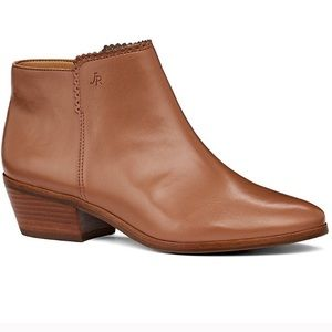 NWOB-Jack Rogers - New Leather Ankle Boots
